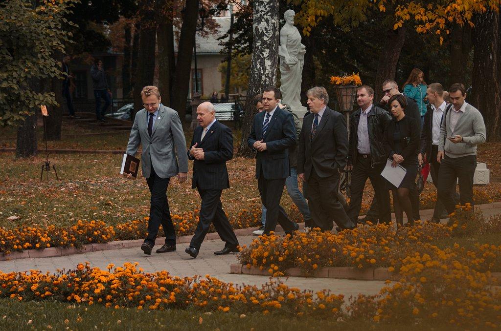 Андрій Садовий відвідав Острозьку академію