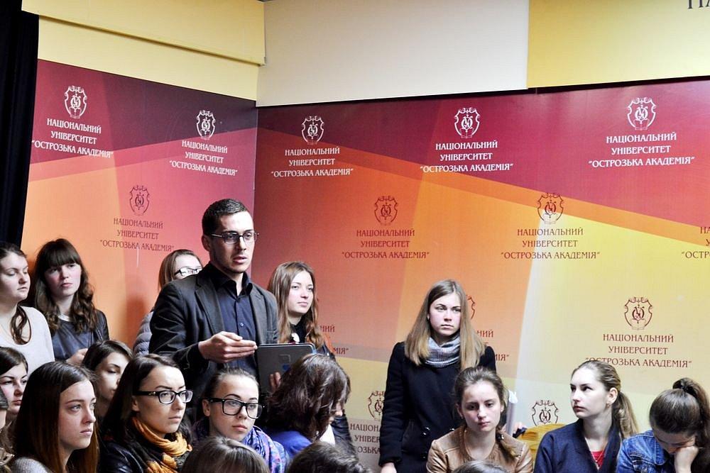 Зустріч з журналістом Русланом Кухарчуком