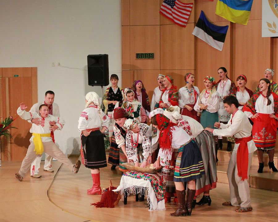 Студентський хор на Міжнародному фестивалі IFAS у м. Пардубіце (Чеська Республіка)