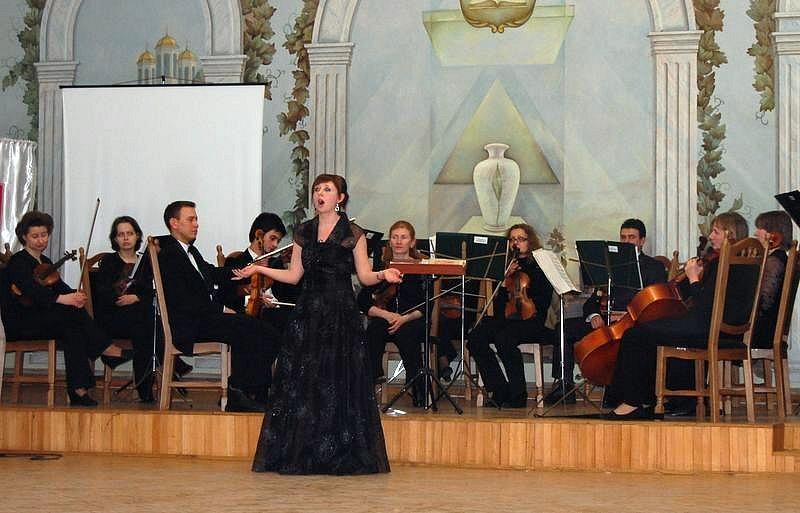 Камерний оркестр Рівненської обласної філармонії та Іванна Гаврилюк