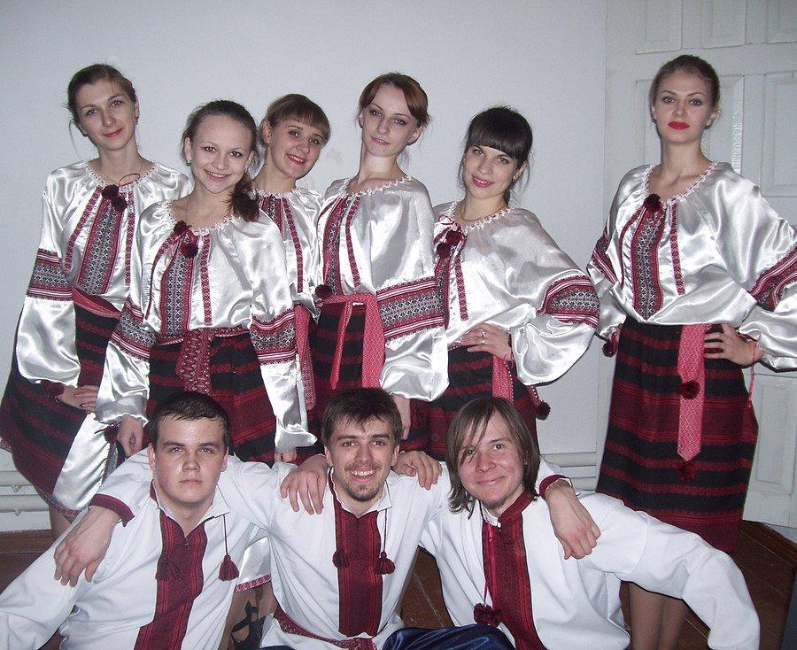 Колектив народного танцю «Спалах»