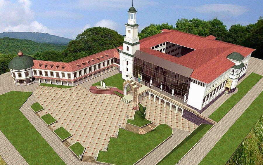 Проект гуманітарного корпусу (панорама)