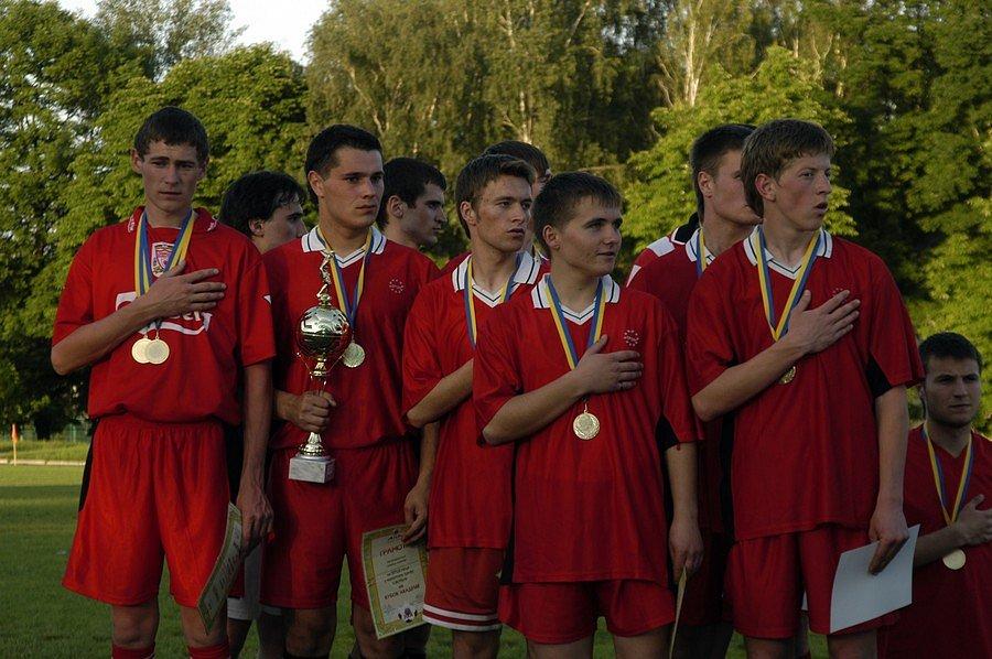 Переможці футбольного турніру «Кубок ректора»