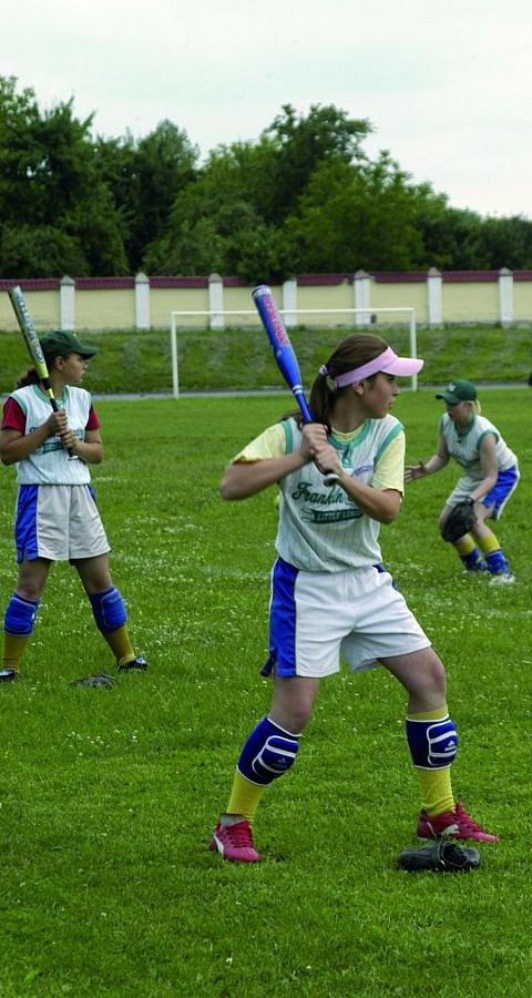 Студентське тренування із софтболу