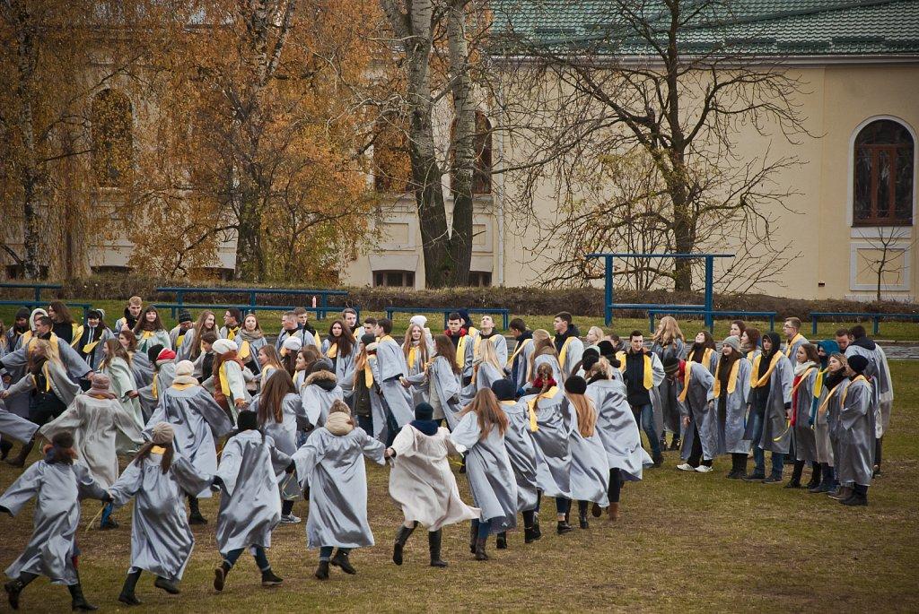 Театралізований флешмоб та встановлення п'ятого рекорду України